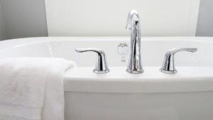 タオルを運気 お風呂場などの水回り